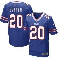 Nike Bills #20 Corey Graham Royal Blue Team Color Men's Stitched NFL New Elite Jersey