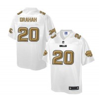 Nike Bills #20 Corey Graham White Men's NFL Pro Line Fashion Game Jersey