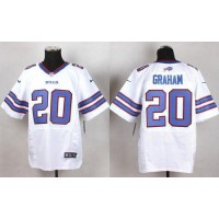 Nike Bills #20 Corey Graham White Men's Stitched NFL New Elite Jersey