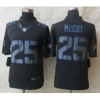 Nike Bills #25 LeSean McCoy Black Men's Stitched NFL Impact Limited Jersey