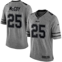 Nike Bills #25 LeSean McCoy Gray Men's Stitched NFL Limited Gridiron Gray Jersey