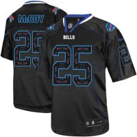 Nike Bills #25 LeSean McCoy New Lights Out Black Men's Stitched NFL Elite Jersey
