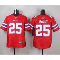 Nike Bills #25 LeSean McCoy Red Men's Stitched NFL Elite Rush Jersey