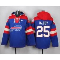 Nike Bills #25 LeSean McCoy Royal Blue Player Pullover NFL Hoodie