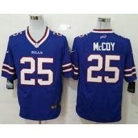 Nike Bills #25 LeSean McCoy Royal Blue Team Color Men's Stitched NFL Game Jersey