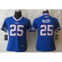Nike Bills #25 LeSean McCoy Royal Blue Team Color Women's Stitched NFL Limited Jersey