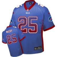 Nike Bills #25 LeSean McCoy Royal Blue Team Color Youth Stitched NFL Elite Drift Fashion Jersey