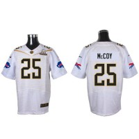 Nike Bills #25 LeSean McCoy White 2016 Pro Bowl Men's Stitched NFL Elite Jersey