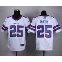 Nike Bills #25 LeSean McCoy White Men's Stitched NFL New Elite Jersey