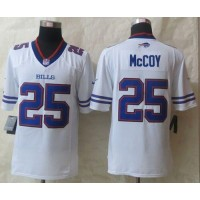 Nike Bills #25 LeSean McCoy White Men's Stitched NFL New Limited Jersey