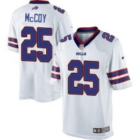 Nike Bills #25 LeSean McCoy White Youth Stitched NFL Limited Jersey