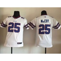 Nike Bills #25 LeSean McCoy White Youth Stitched NFL New Elite Jersey