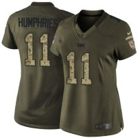 Nike Buccaneers #11 Adam Humphries Green Women's Stitched NFL Limited Salute to Service Jersey
