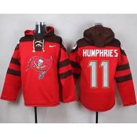 Nike Buccaneers #11 Adam Humphries Red Player Pullover NFL Hoodie