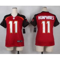 Nike Buccaneers #11 Adam Humphries Red Team Color Women's Stitched NFL New Elite Jersey