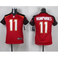 Nike Buccaneers #11 Adam Humphries Red Team Color Youth Stitched NFL New Elite Jersey