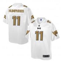 Nike Buccaneers #11 Adam Humphries White Men's NFL Pro Line Fashion Game Jersey