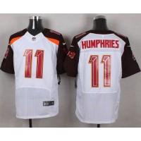 Nike Buccaneers #11 Adam Humphries White Men's Stitched NFL New Elite Jersey