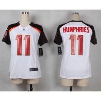 Nike Buccaneers #11 Adam Humphries White Women's Stitched NFL New Elite Jersey
