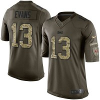 Nike Buccaneers #13 Mike Evans Green Men's Stitched NFL Limited Salute to Service Jersey