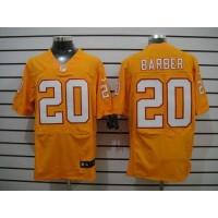Nike Buccaneers #20 Ronde Barber Orange Alternate Men's Stitched NFL Elite Jersey