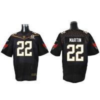 Nike Buccaneers #22 Doug Martin Black 2016 Pro Bowl Men's Stitched NFL Elite Jersey