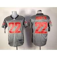 Nike Buccaneers #22 Doug Martin Grey Shadow Men's Stitched NFL Elite Jersey