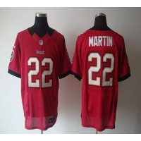 Nike Buccaneers #22 Doug Martin Red Team Color Men's Stitched NFL Elite Jersey