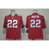 Nike Buccaneers #22 Doug Martin Red Team Color Men's Stitched NFL Game Jersey