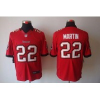 Nike Buccaneers #22 Doug Martin Red Team Color Men's Stitched NFL Limited Jersey
