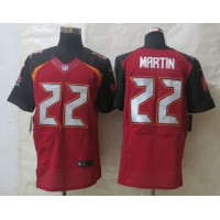 Nike Buccaneers #22 Doug Martin Red Team Color Men's Stitched NFL New Elite Jersey