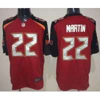 Nike Buccaneers #22 Doug Martin Red Team Color Men's Stitched NFL New Game Jersey