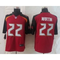 Nike Buccaneers #22 Doug Martin Red Team Color Men's Stitched NFL New Limited Jersey