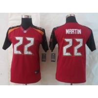 Nike Buccaneers #22 Doug Martin Red Team Color Youth Stitched NFL New Limited Jersey