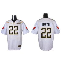 Nike Buccaneers #22 Doug Martin White 2016 Pro Bowl Men's Stitched NFL Elite Jersey