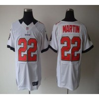 Nike Buccaneers #22 Doug Martin White Men's Stitched NFL Elite Jersey