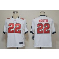 Nike Buccaneers #22 Doug Martin White Men's Stitched NFL Game Jersey