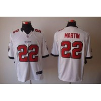 Nike Buccaneers #22 Doug Martin White Men's Stitched NFL Limited Jersey