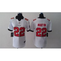 Nike Buccaneers #22 Doug Martin White Women's Stitched NFL Limited Jersey
