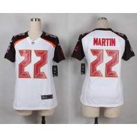 Nike Buccaneers #22 Doug Martin White Women's Stitched NFL New Elite Jersey
