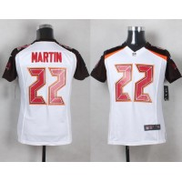 Nike Buccaneers #22 Doug Martin White Youth Stitched NFL New Elite Jersey