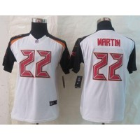 Nike Buccaneers #22 Doug Martin White Youth Stitched NFL New Limited Jersey