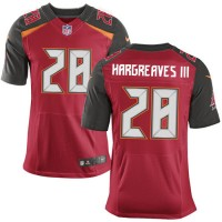 Nike Buccaneers #28 Vernon Hargreaves III Red Team Color Men's Stitched NFL New Elite Jersey