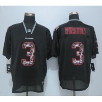 Nike Buccaneers #3 Jameis Winston New Lights Out Black Men's Stitched NFL Elite Jersey