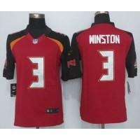 Nike Buccaneers #3 Jameis Winston Red Team Color Men's Stitched NFL New Limited Jersey