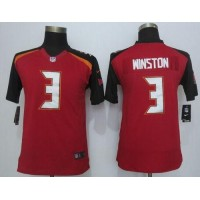 Nike Buccaneers #3 Jameis Winston Red Team Color Youth Stitched NFL New Limited Jersey
