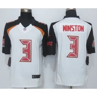 Nike Buccaneers #3 Jameis Winston White Men's Stitched NFL New Limited Jersey