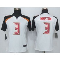 Nike Buccaneers #3 Jameis Winston White Women's Stitched NFL New Limited Jersey
