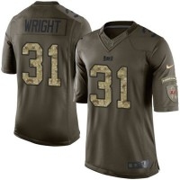 Nike Buccaneers #31 Major Wright Green Youth Stitched NFL Limited Salute to Service Jersey