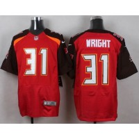 Nike Buccaneers #31 Major Wright Red Team Color Men's Stitched NFL New Elite Jersey